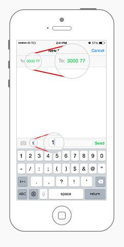 همکاری در فروش پیامک