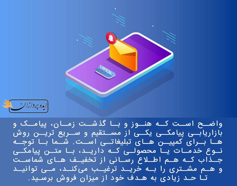 بازاریابی پیامکی قبل از عید 98