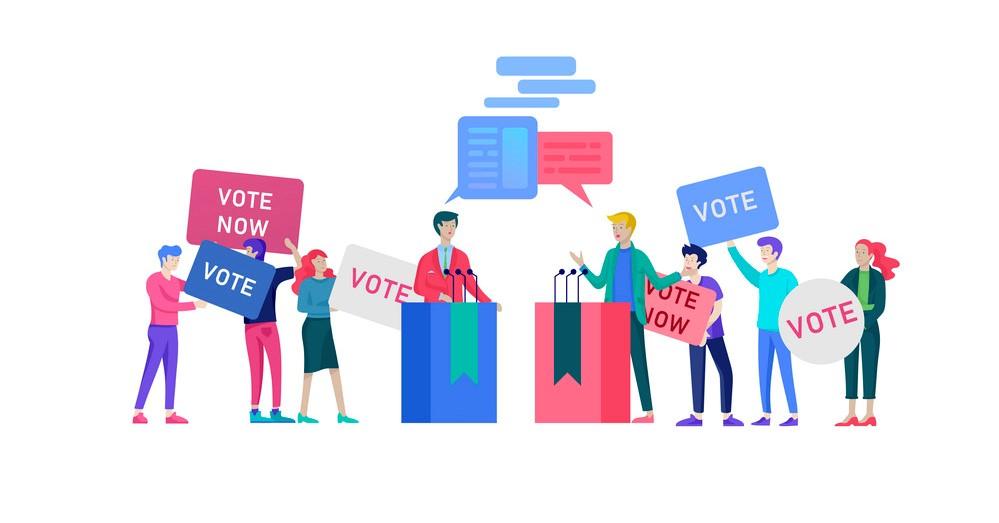 تاثیر گفتمان و بررسی نگرشهای مختلف سیاسی در پیروزی انتخابات